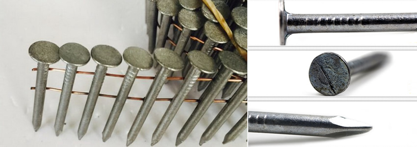 Exceptional Stainless Steel Nails For Asphalt Tile Roofing Fastening With Flat Head