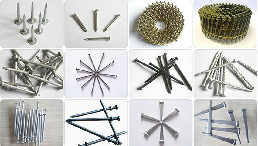 Masonry Nails For Cement Building Constructions Wire