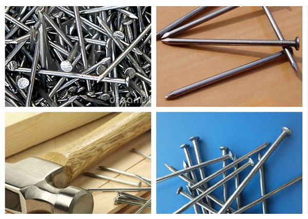 Common Steel Construction Nails Scaffolding Nails Duplex