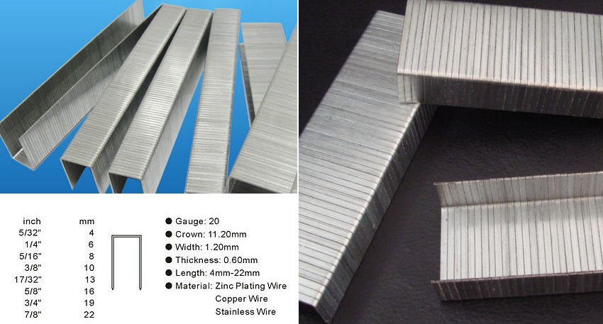 Hot dipped galvanized steel staple wire nails for stitching uses galvanized low carbon steel stapling wire bands keyboard keysfo Choice Image